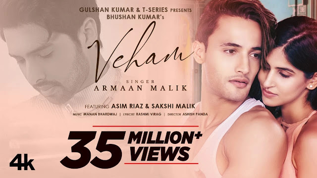 Veham Song Lyrics In HIndi - Armaan Malik