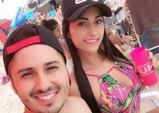 A blogueira e seinamorado são mortos com mais de 70 tiros