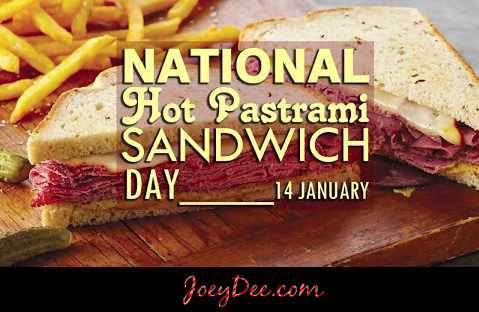 National Hot Pastrami Sandwich Day Wishes Pics
