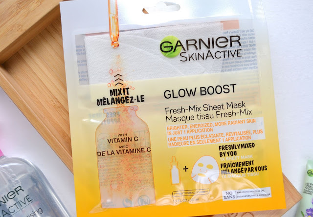 Garnier SkinActive Fresh Mix Glow Boost Sheet Mask