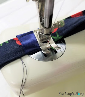 how to sew a lanyard