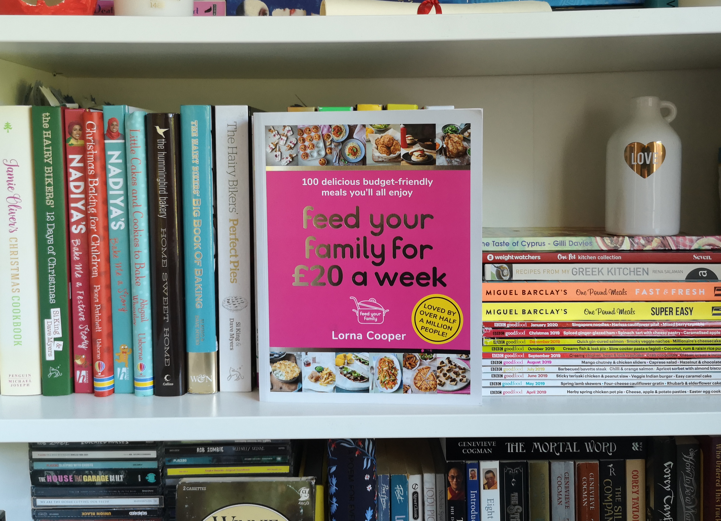 feed your family for £20 a day cookbook review