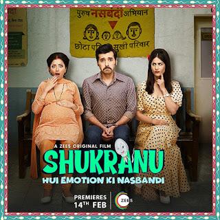 Shukranu 2020 Hindi Movie HDRip   720p   480p