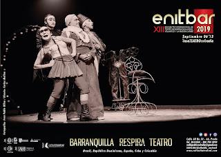 enitbar. Barranquilla Respira Teatro en Septiembre