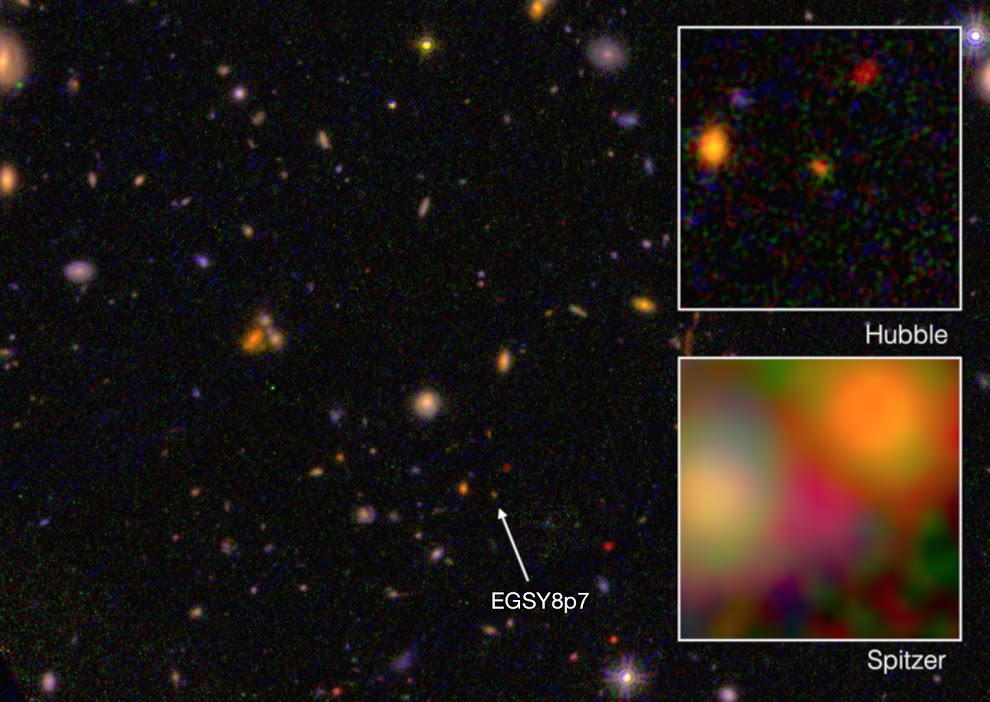 Breaking News: Farthest galaxy detected
