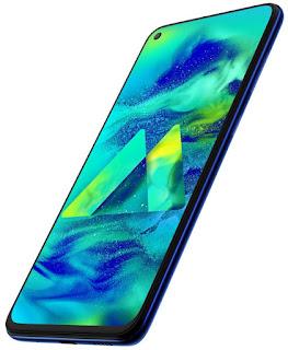 Samsung Galaxy M40 Midnight Blue