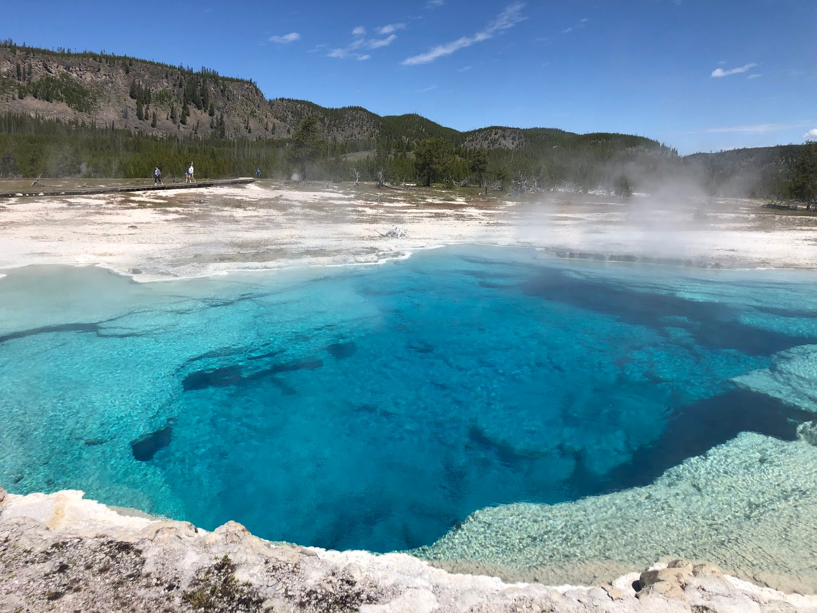 A New Day: Last Part... Geysers And Some Of The Most