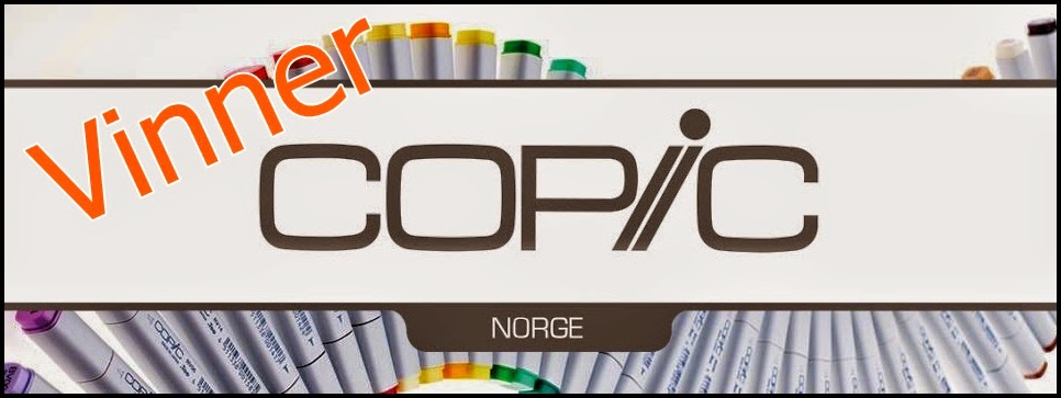 Vinner Copic Marker Norge  03/2019