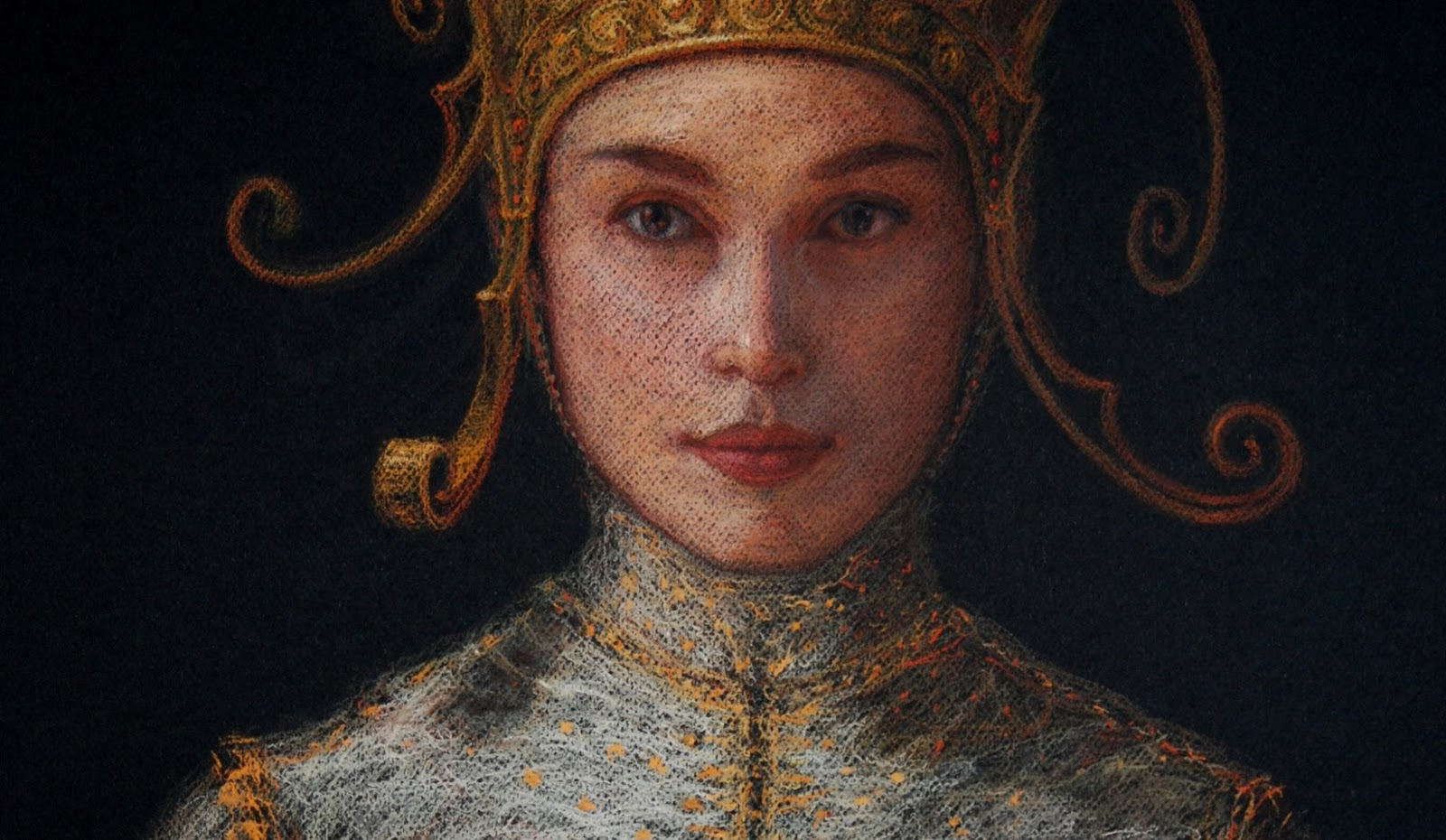 """Figurative and Portrait Paintings by Spanish Artist """"Ángel de Cáceres García"""""""