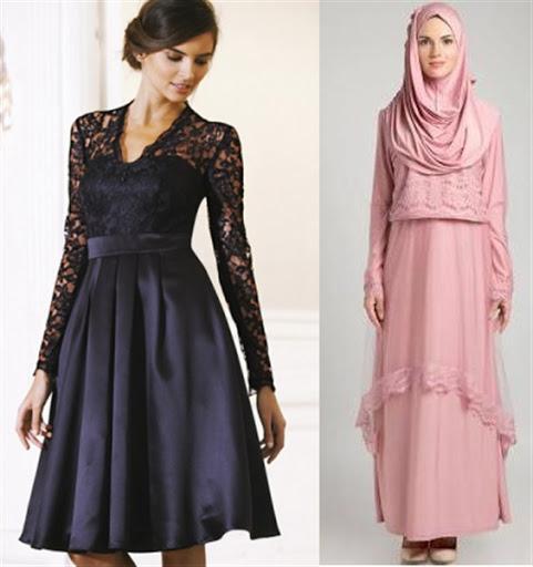 gaun pengantin sederhana