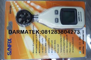 Jual Sanfix GM816A  Digital-Anemometer