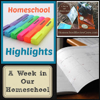 Homeschool Highlights - A Week in Our Homeschool on Homeschool Coffee Break @ kympossibleblog.blogspot.com - a look at what a typical week in our homeschool is like, along with the highlights of this particular week. #HomeschoolHighlights #homeschool