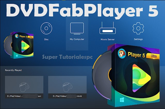 DVDFab Player 5 Reproductor de video 4K