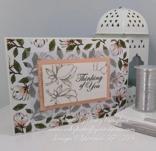 Nigezza Creates with Stampin Up Friends Inkybutterfly Magnolia Lane