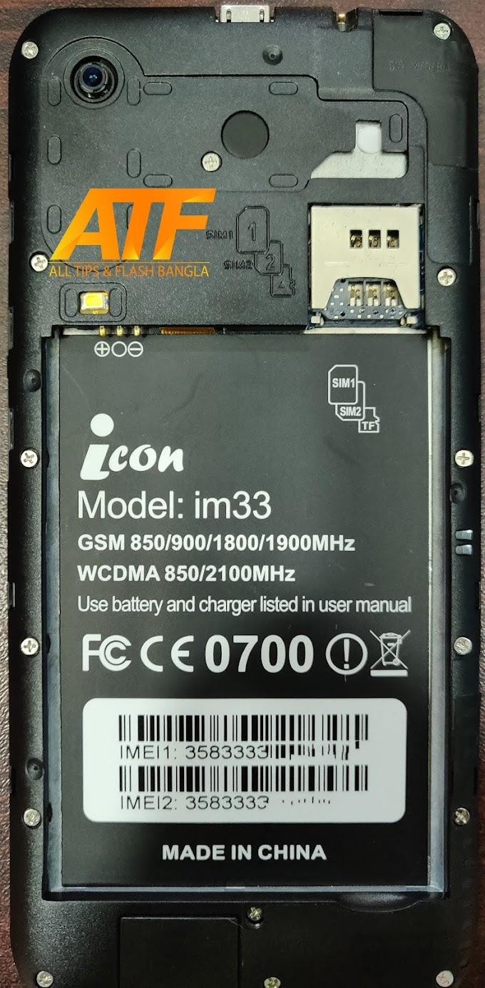 ICON iM33 FLASH FILE MT6572 FIRMWARE