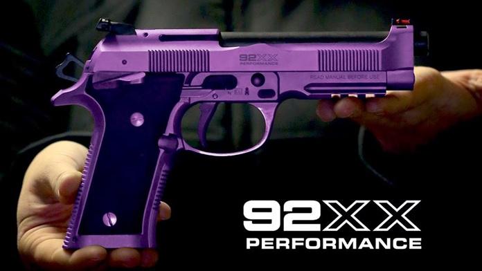 Nuova pistola Beretta 92 XX Performance