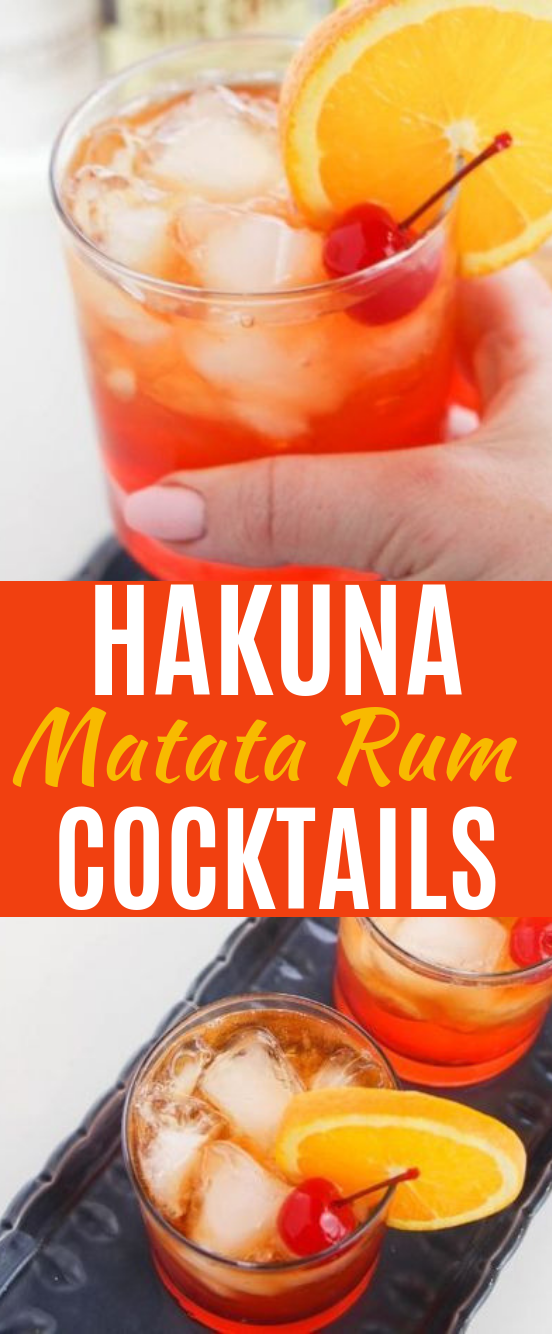 Hakuna Matata Cocktail #drinks #cocktails