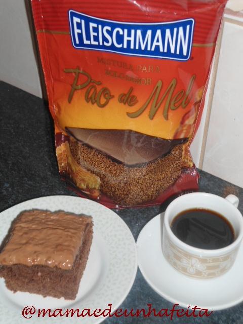 massa de bolo fleischmann pão de mel