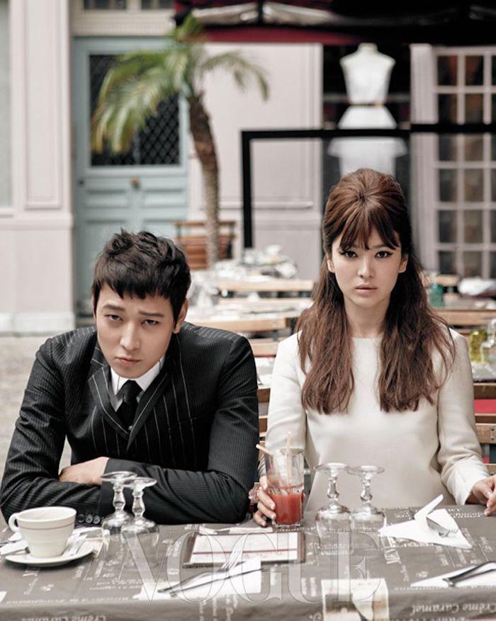 Song Hye Kyo and Kang Dong Won, Song Hye Kyo and Kang Dong Won Vogue, Song Hye Kyo and Kang Dong Won Vogue Korea