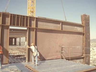 جدار القص من الصلبSteel Plate Shear Wall
