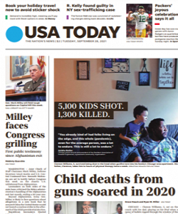 Read Online USA Today Magazine 28 September 2021 Hear And More USA Today News And USA Today Magazine Pdf Download On Website.