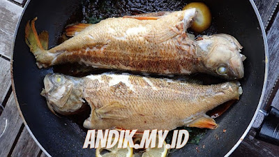menggoreng ikan, ikan goreng, masak ikan,