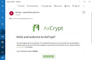 AxCrypt - Cách đơn giản nhất bảo vệ tệp của bạn bằng mật khẩu