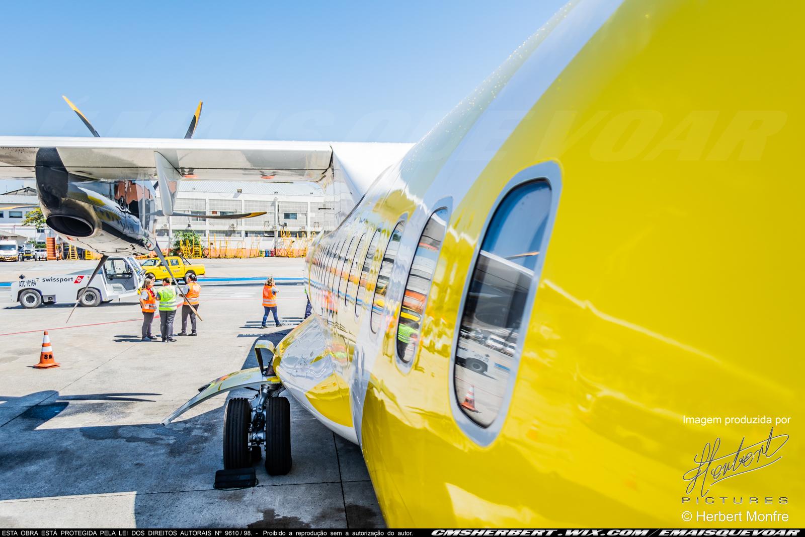As cidades Campos dos Goytacazes e Teixeira de Freitas receberão voos comerciais | Foto © Herbert Monfre | Por É MAIS QUE VOAR