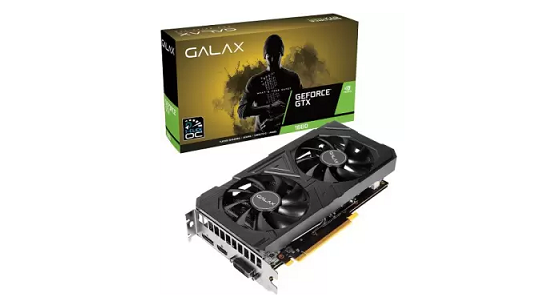 GALAX GeForce GTX 1660 (1-Click OC) 6GB GDDR5