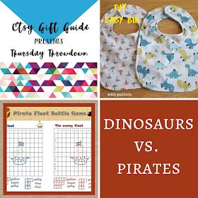 Thursday Throwdown: pirates vs. dinosaurs