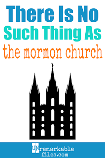 Do you think the 'Mormon church' is a real thing? It's not! Read on to learn the actual name of the Mormon religion and what its members prefer to be called. (Hint: it's not 'Mormon!')  #mormon #latterdaysaint #lds #jesus #christian #religion #unremarkablefile