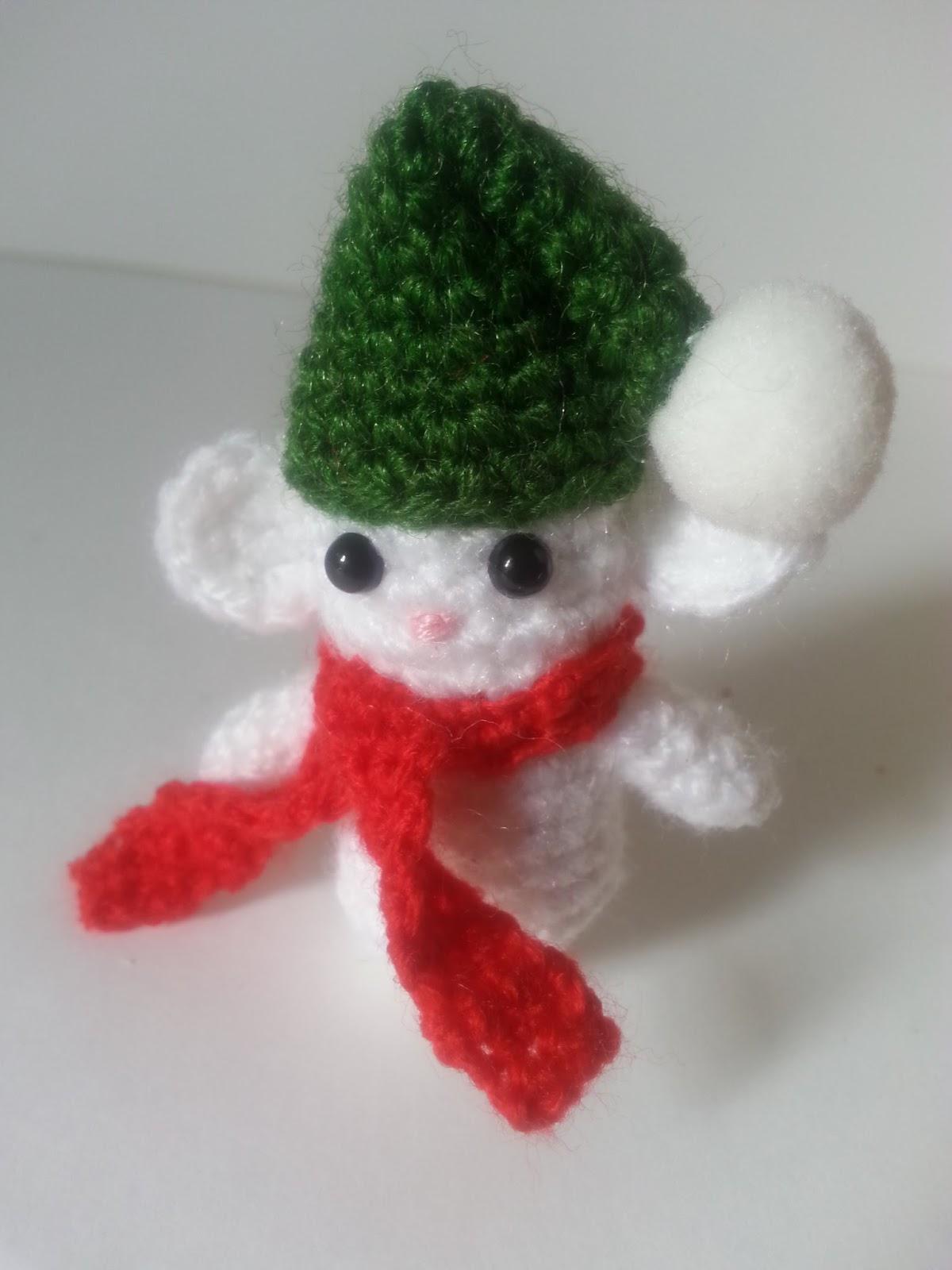 anygurumi: Día 8. Ratoncitos navideños