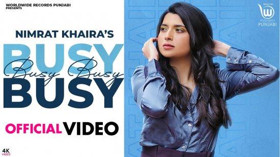 Busy Busy Lyrics Nimrat Khaira