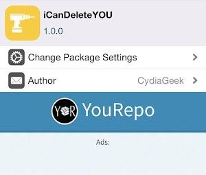 اداة iCanDeleteYOU لحذف الرسالة واتساب عند طرف الثاني - جلبريك  10 - 12.4 IOS