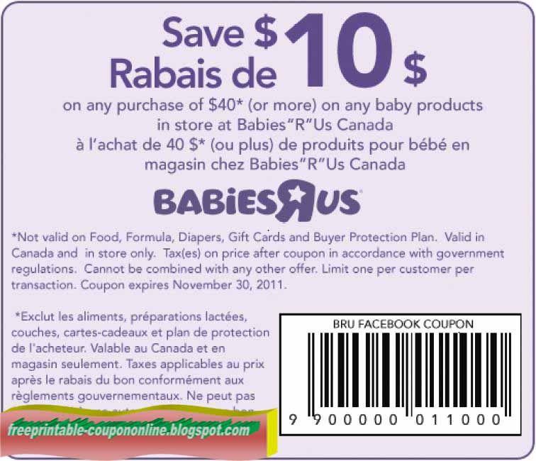 photograph about Babies R Us Coupon Printable known as Printable Coupon codes 2019: Infants R Us Coupon codes