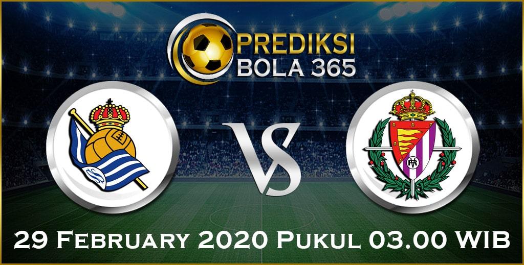 Prediksi Skor Bola Real Sociedad vs Valladolid 29 Feb 2020