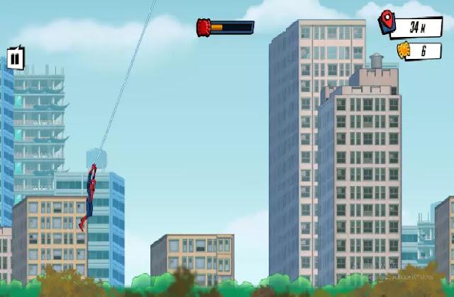 Game Spider Man Mysterio Rush termasuk salah satu permainan yang menantang