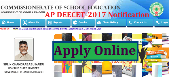 AP DEECET-2017 Notification Online Registration @cse.ap.gov.in/dse | Andhra Pradesh Diploma in Elementary Education Common Computer Based Test 2017 Notification released for the stream 2017-19 | Eligibility Criteria for DEECET-2017  Scheme of Examination Important Dates Online Application Form | Download Application Form Hall Tickets Results Key for DEECET-2017 will be availabe at http://cse.ap.gov.in | Online Application starts from 22.03.2017 in Andhra Pradesh for IASEs/CTEs Govt DIETs and Private DIETs | Common Entrance Test will be conducted to get Admission into District Institute for Education and Training in both Govt and Pvt Sector | Schedule for AP DEECET/Andhra Pradesh Diploma in Elementary Education Common Entrance Test 2017 | ap-deecet-2017-notification-online-registration-application-form-hall-tickets-results-cse.ap.gov.in-download