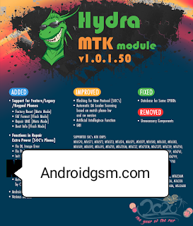How To Download Hydra MTKTool v1.0.5.0 - Keypad Phones & Socs Phones & +350 Models free Download To Androidgsm