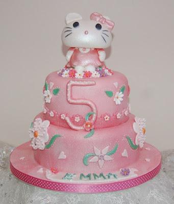 Hình ảnh bánh kem sinh nhật hello kitty
