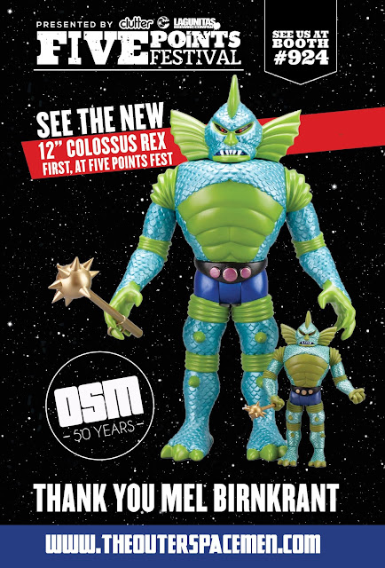 The Outer Space Men Celebrate 50 Years of Toy Innovation at Five Points Festival 2018!
