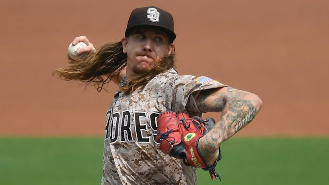 Padres' Mike Clevinger leaves start after one inning due to bicep tendonitis