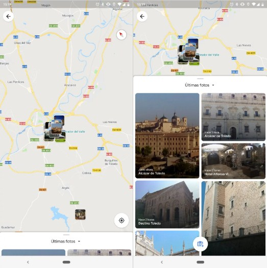 Google Maps Photo Section