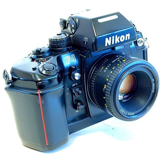 Nikon F4 35mm AF SLR Film Camera