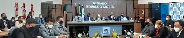 Vereadores de Patos-PB aprovam 59 requerimentos na Sessão Ordinária desta quinta-feira (18)