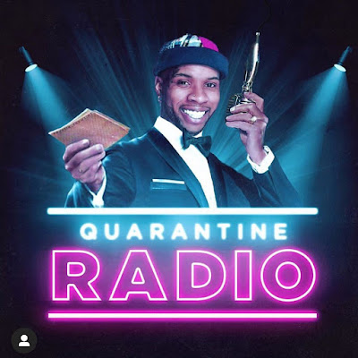 """""""Quarantine Radio"""" has been put on hold for the next week after Tory Lanez' got kicked off of Instagram Live from two different accounts."""