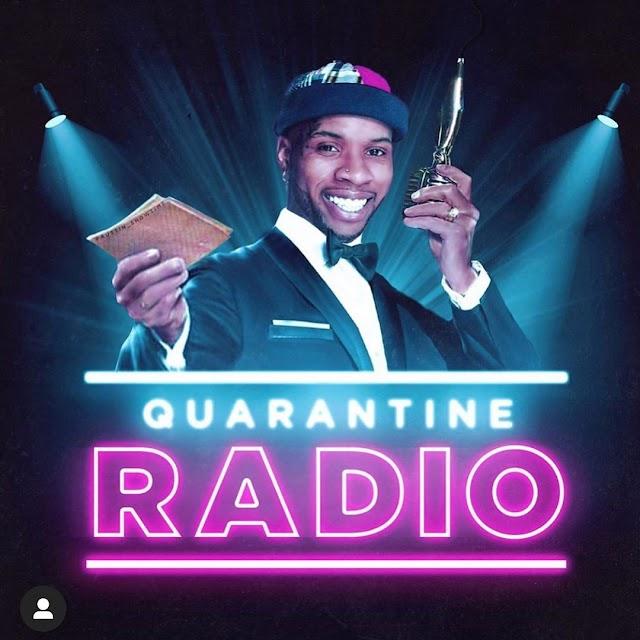 "Tory Lanez  IG Live ""Quarantine Radio"" Halted By Instagram."