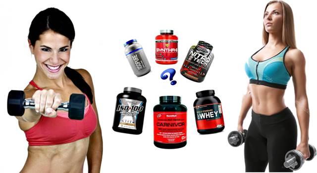 Proteínas en polvo para mujeres ganar masa muscular