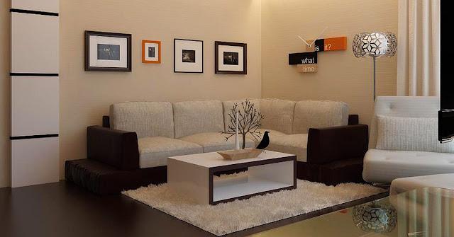 5 Prinsip Desain  Ruang Tamu Modern Minimalis