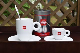 Illy Moka Espresso Grande and Piccolo